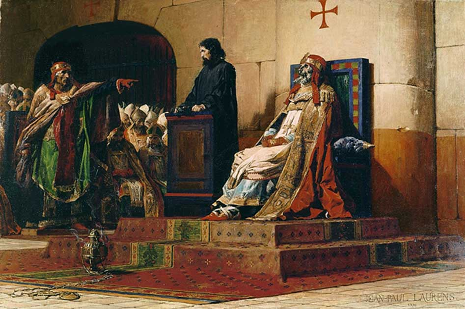Cadaver Synod: The Exhumed Corpse of Pope Formosus That Was Put on Trial