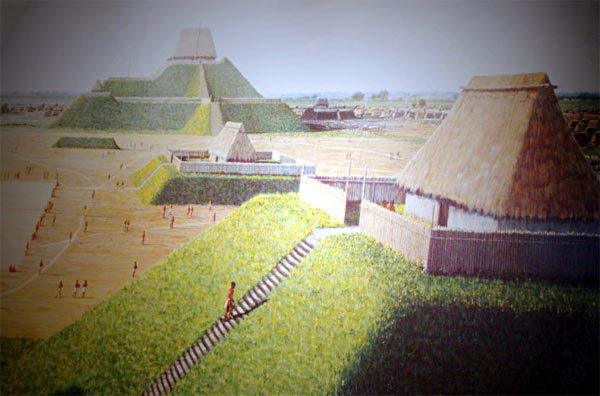 Ancient city of Cahokia