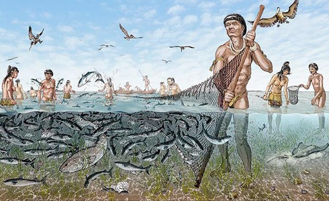 an analysis of the first native americans called the paleo indians The paleo-indians, beginning about 12,000 bc, lived in small family groups they are also called bluff dwellers because some lived in caves or under bluffs by streams they lived alongside or near streams and wandered in the uplands.