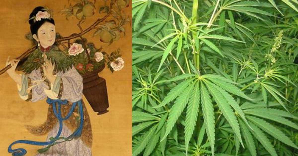 Magu, Goddess of Longevity and immortal hemp maiden