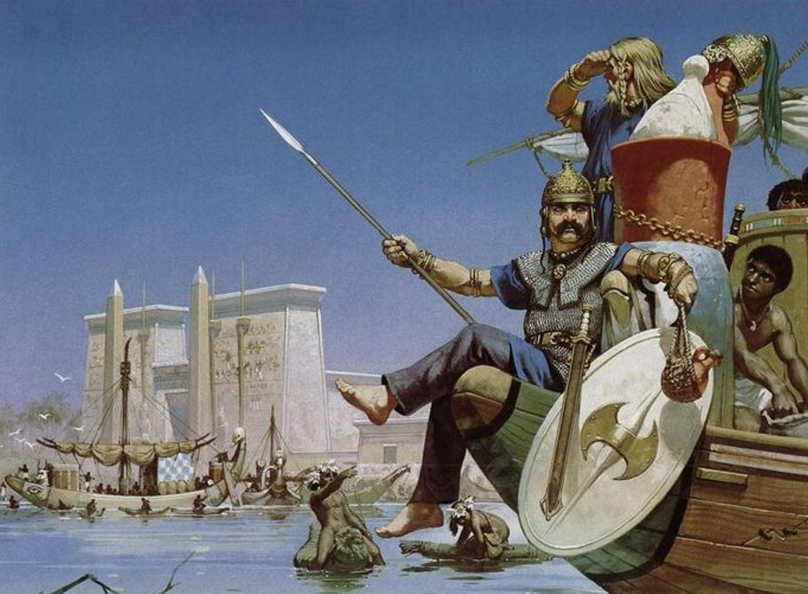 Celtic mercenaries in Egypt