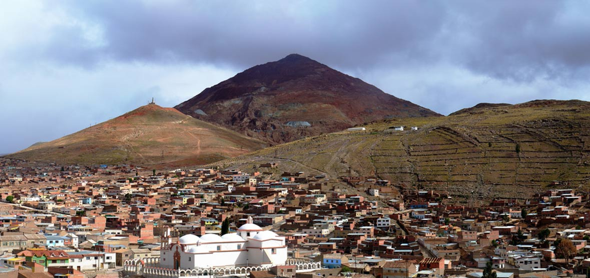 View of Rich Hill (Cerro Rico).