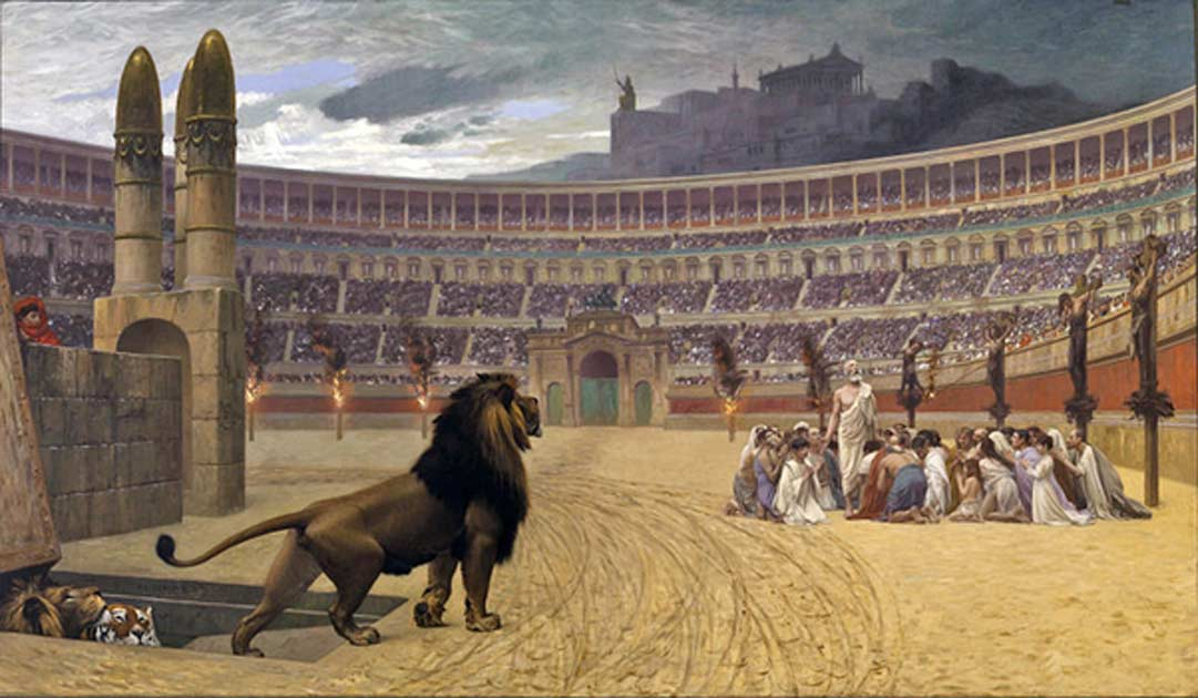 Mythbusting Ancient Rome – Throwing Christians to the Lions