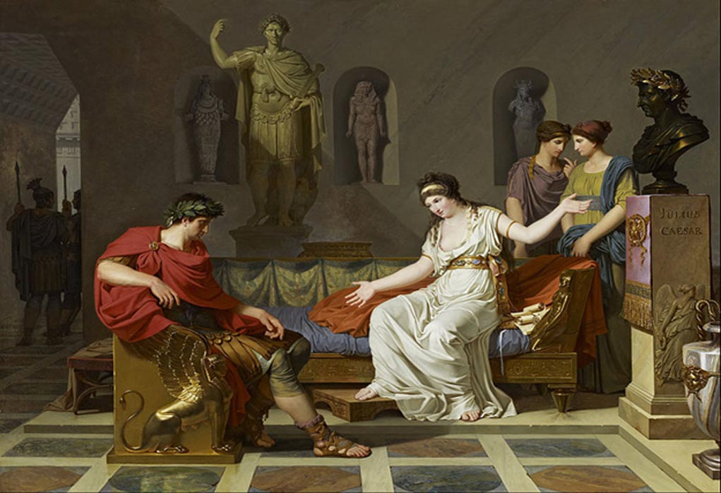 What if Cleopatra and Octavian Had Been Friends?