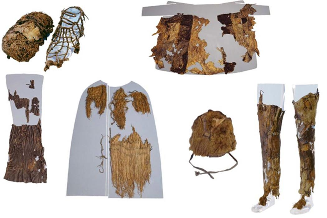5 300 year otzi the iceman was wearing clothing from