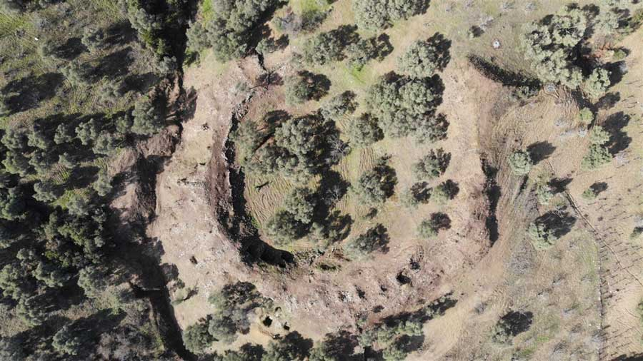 The best-ever Roman amphitheater, a Roman Colosseum replica that could seat 15 - 20,000 has recently been discovered in a field in Western Turkey, complete with underground gladiator and administrator rooms.