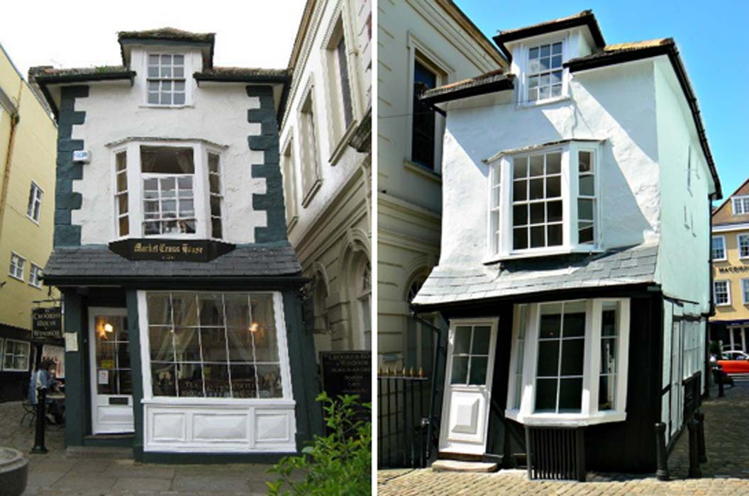 A house with a twist the 16th century crooked house of for Windsor house
