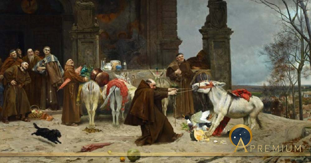 Return to the Convent by Eduardo Zamacois y Zabala (1868) Carmen Thyssen Museum (Public Domain)
