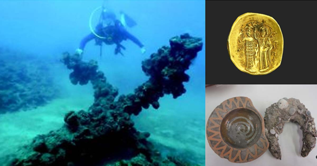 Crusader Shipwreck Yields Coins and Other Artifacts from the Final Years of a Holy Land Fortress