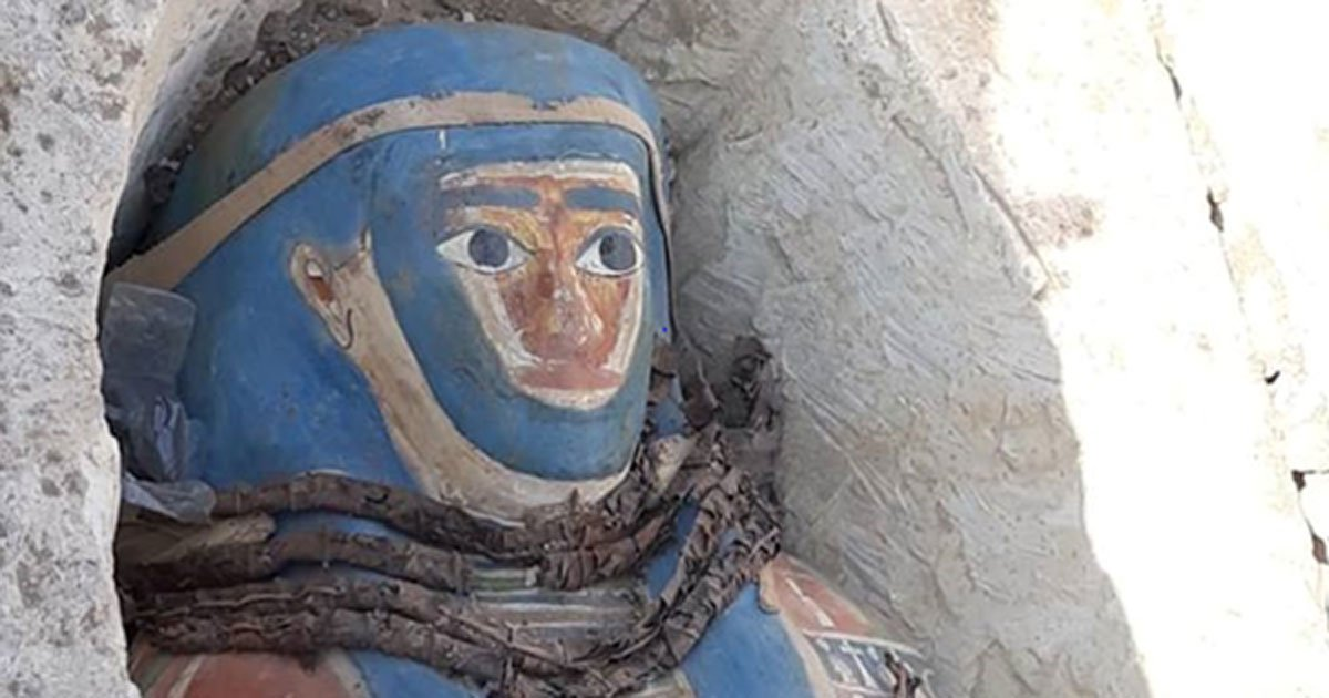 Eight Remarkable But Glaringly Out of Place Mummies Found At Dahshur Necropolis