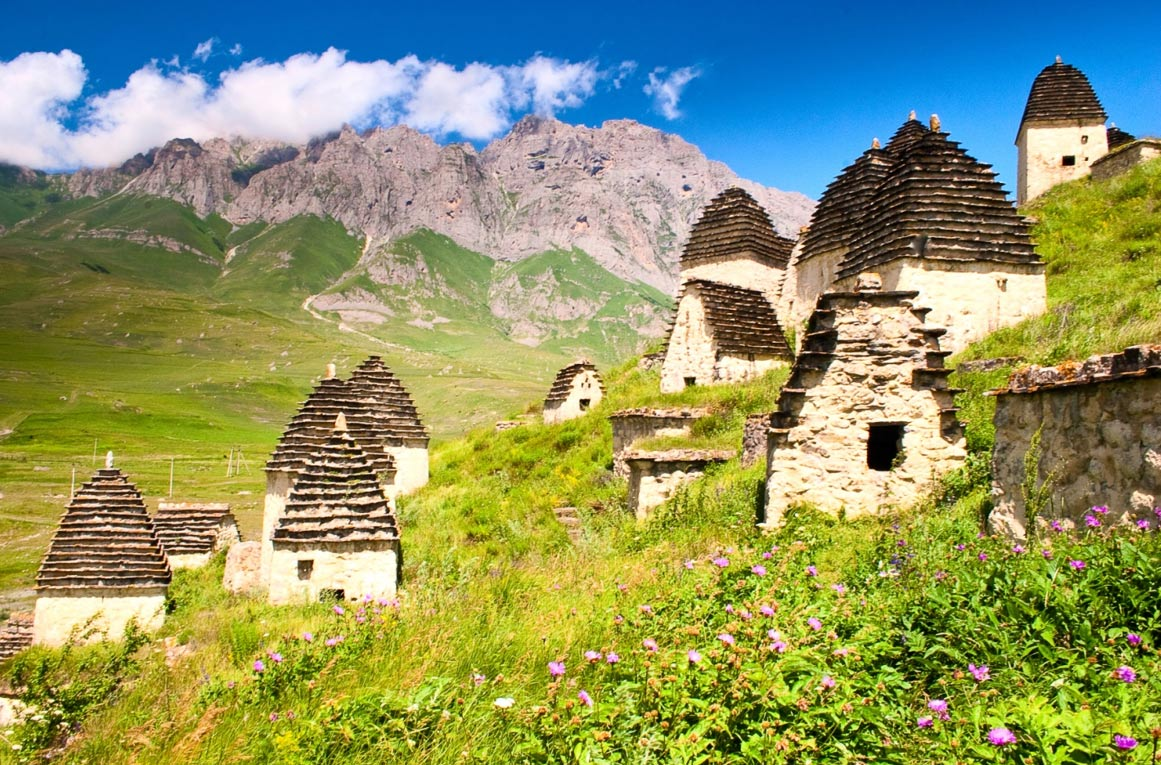 The Mysterious Village of Dargavs, Russia