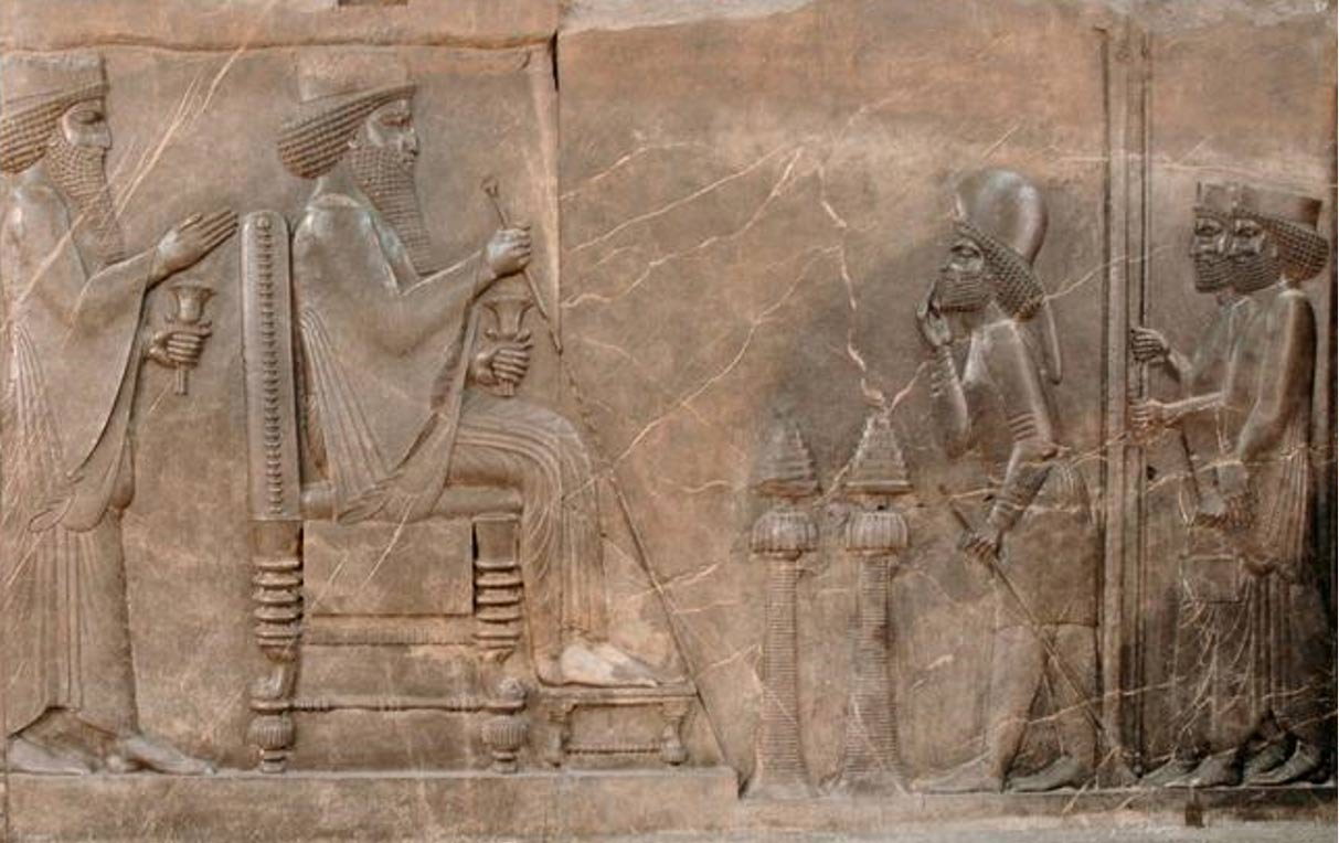Nowruz the persian new year and the spring equinox ancient origins darius the great receiving greetings and gifts from governors and ambassadors relief from persepolis m4hsunfo