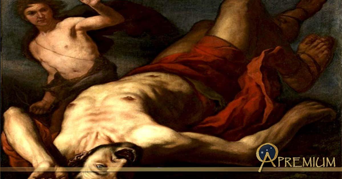 David and Goliath, by Antonio Zanchi (1631—1722)