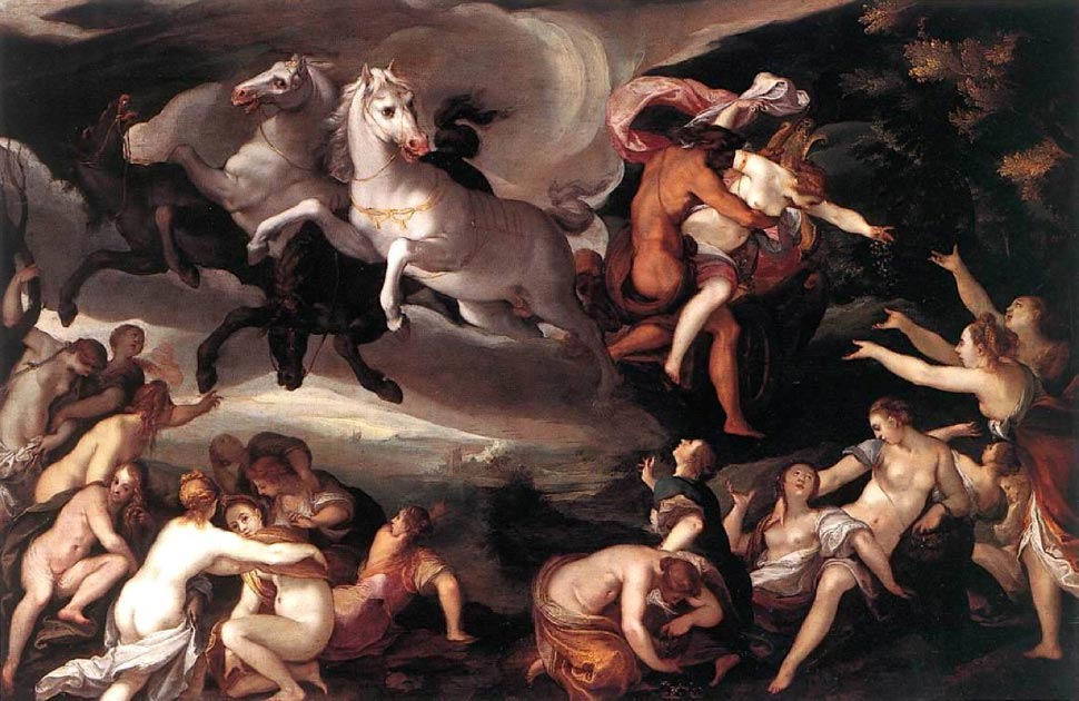 The rape of Persephone. Source: Mattes / Public Domain