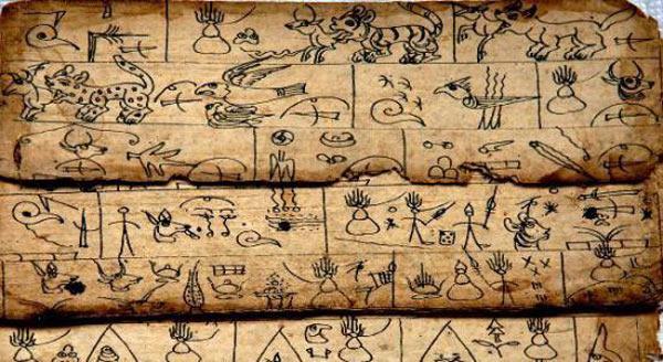 Dongba Hieroglyphics