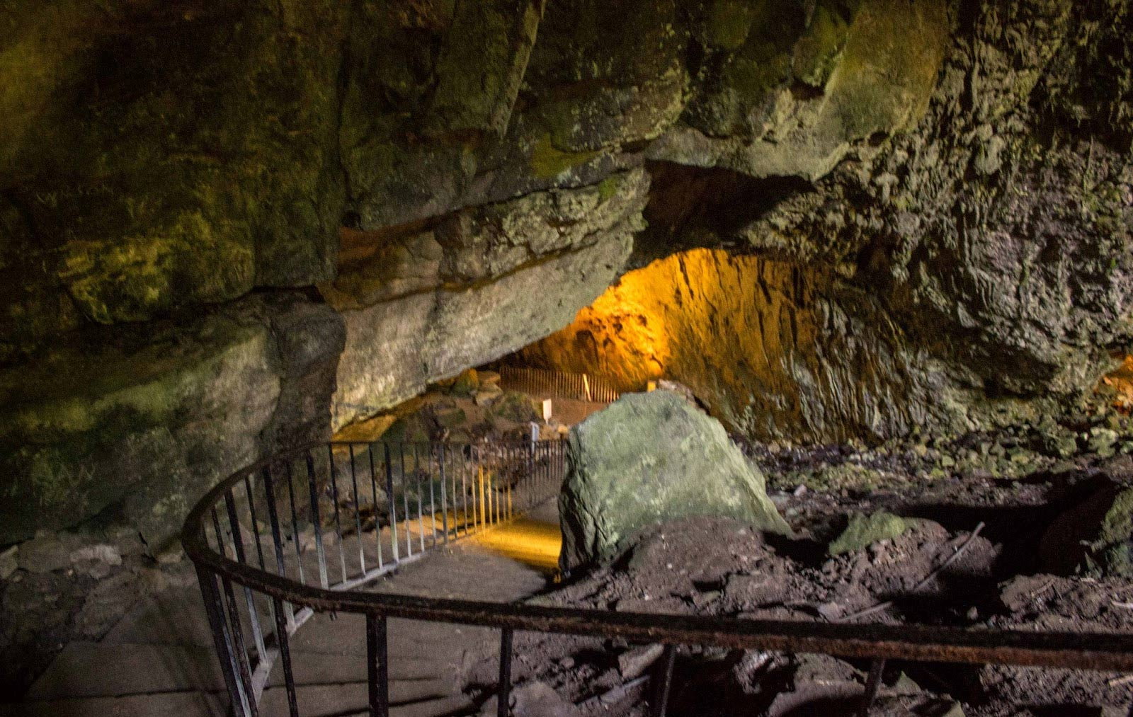 The Dunmore Cave of Ireland