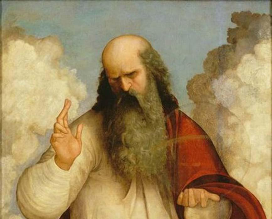 God the Father' (1510-1520) by Ludovico Mazzolino.