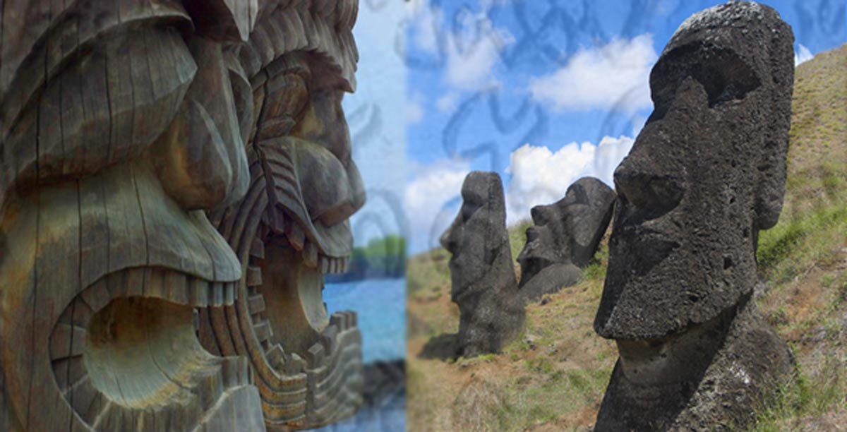 From easter island to hawaii: was there a common writing system used