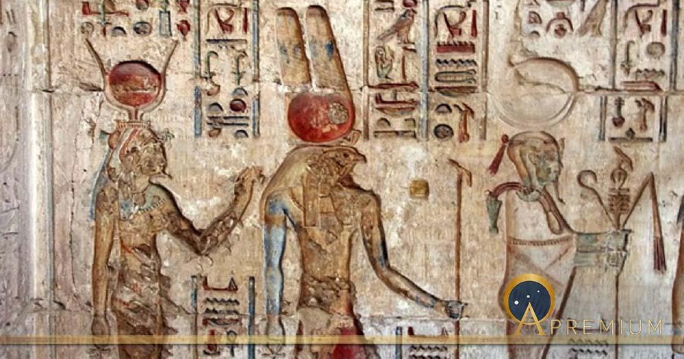 egypt, tomb, deir-el-medina, hieroglyphs, isis, horus, osiris, divinities, antique, culture (free photo)
