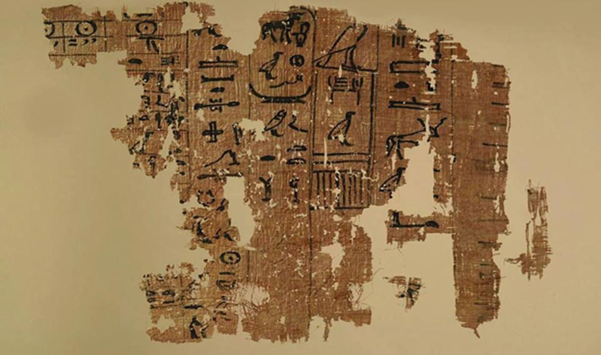 Ancient Egyptian Logbook of Inspector Who Helped Construct the Great