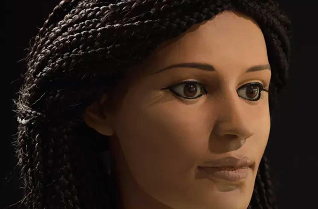 Egyptian facial features