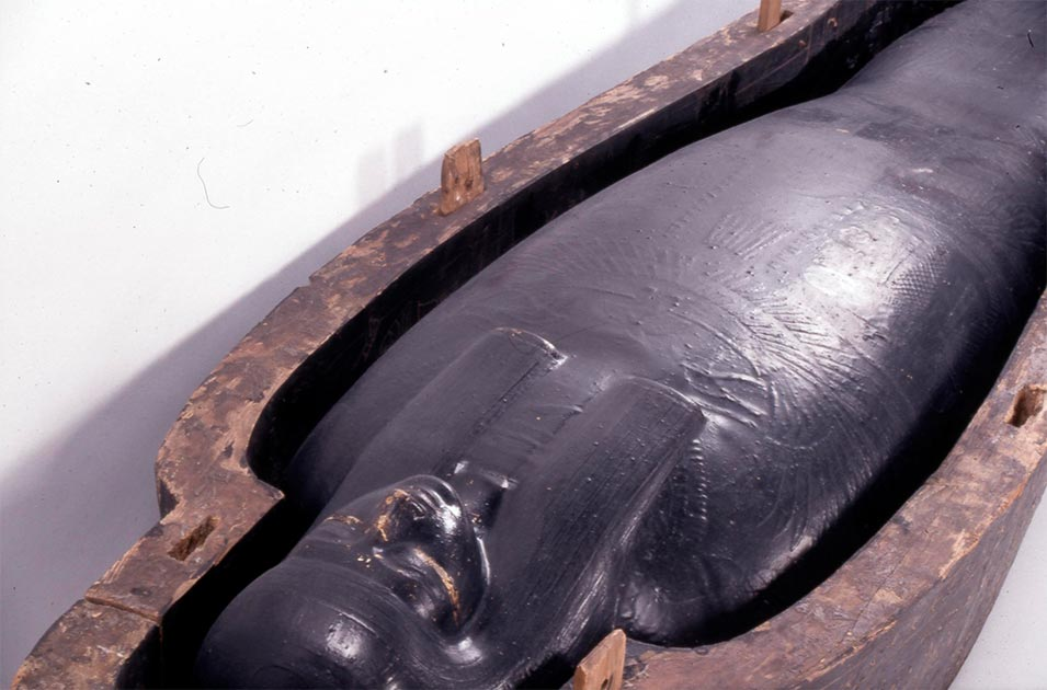 The black go used in Egyptian burials has been analyzed.       Source: ©The Trustees of the British Museum / CC BY-NC-SA 4.0