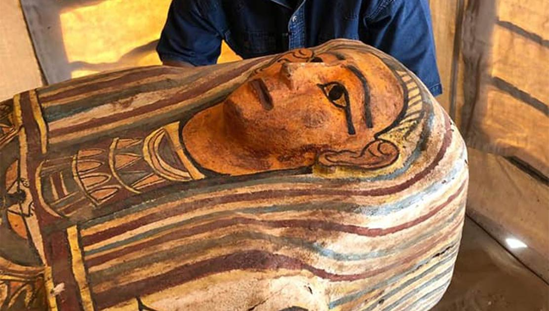 """Discovery of 14 Ancient Sarcophagi in Saqqara is """"Only the Beginning""""!"""