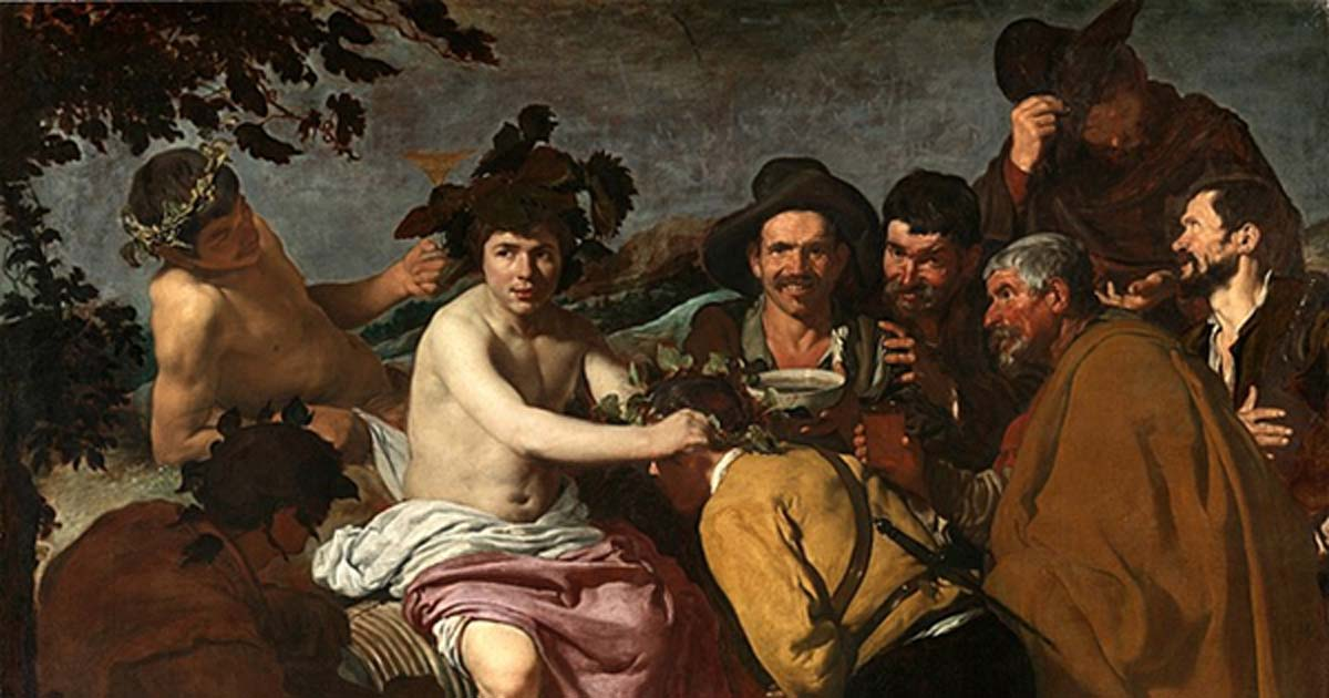 'The Triumph of Bacchus' (1628-1629) by Diego Velázquez.