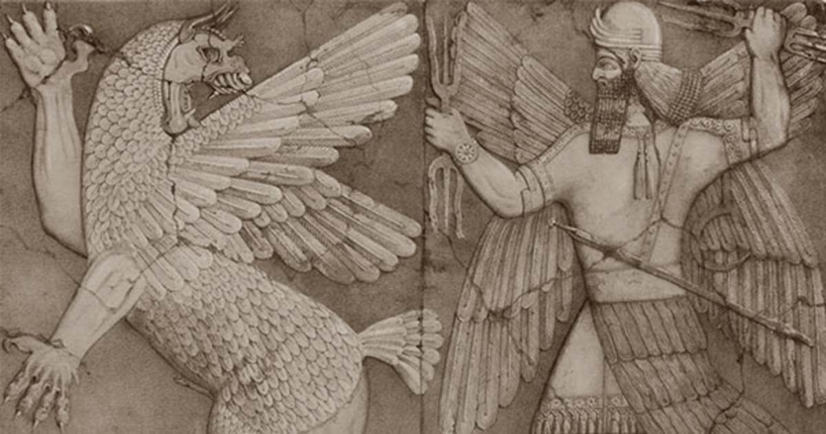 Forget death and seek life fascinating insights into the human sumerian chaos monster and sun god fandeluxe