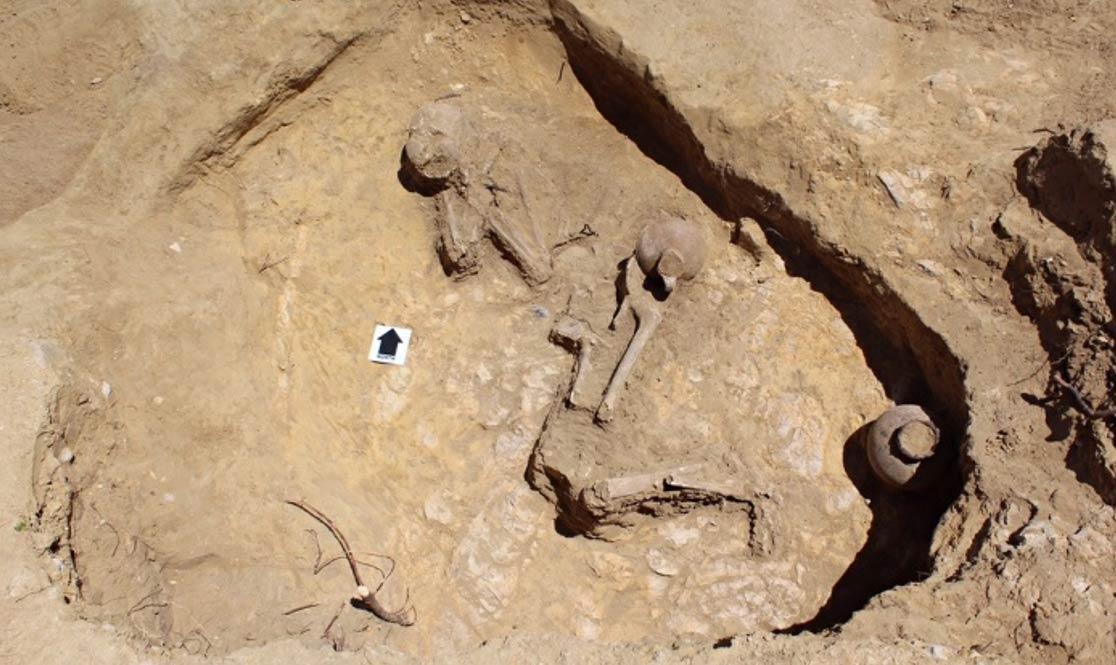 Ethiopian grave