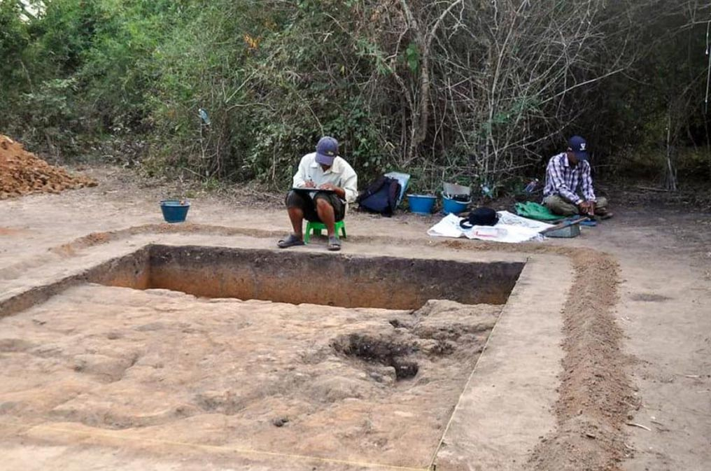 Excavations are underway at Longvek, a site that was capital of Cambodia after Angkor fell in the 15th century.