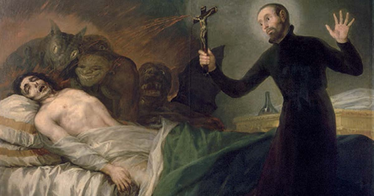 Exorcism how does it work and why is it on the rise ancient origins painting of father general saint francis borgia sj performing an exorcism by goya solutioingenieria Images