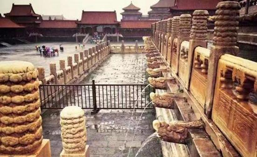 600-Year-Old Forbidden City Untouched in Flooded Beijing