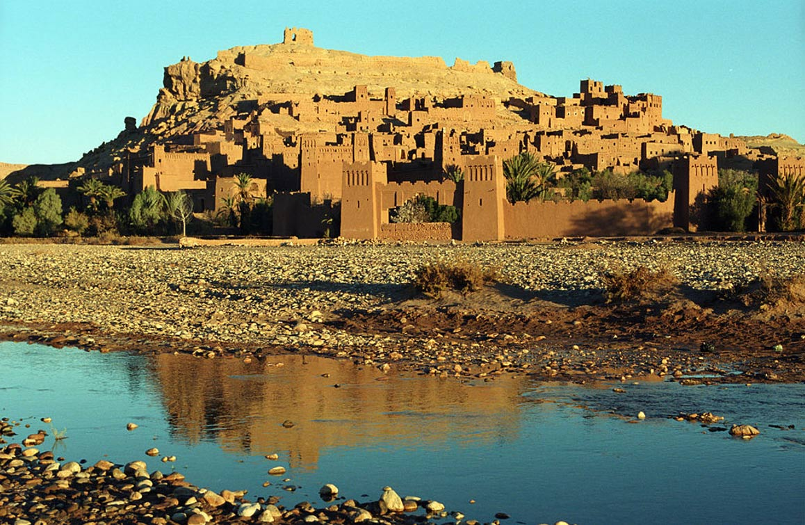 The Ancient, Fortified Ksar of Ait-Ben-Haddou