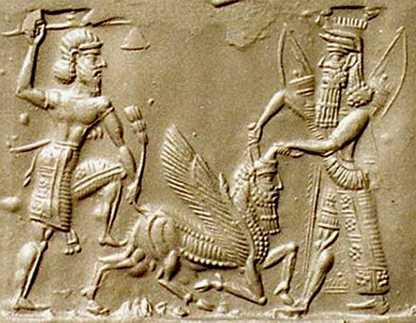 Gilgamesh Cylinder Seal
