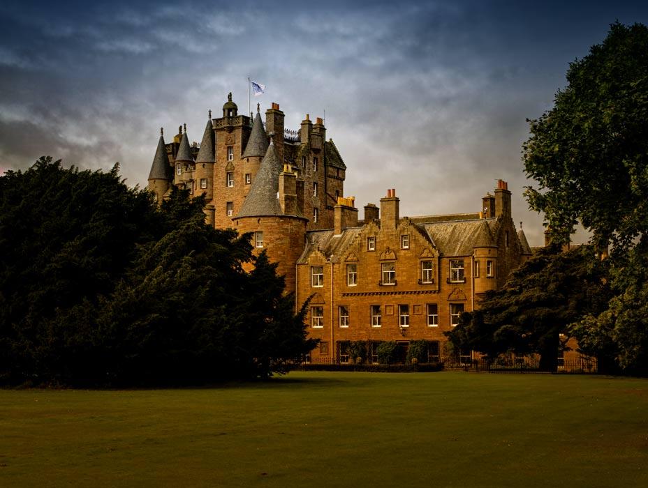 Glamis Castle, Angus, Scotland.