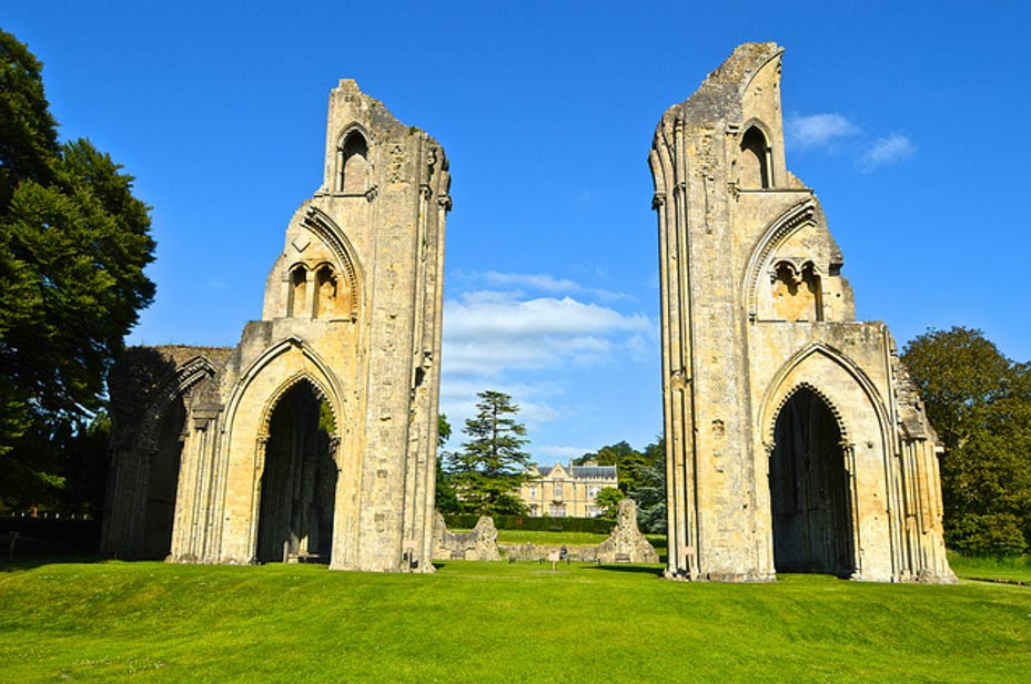 Glastonbury Abbey.