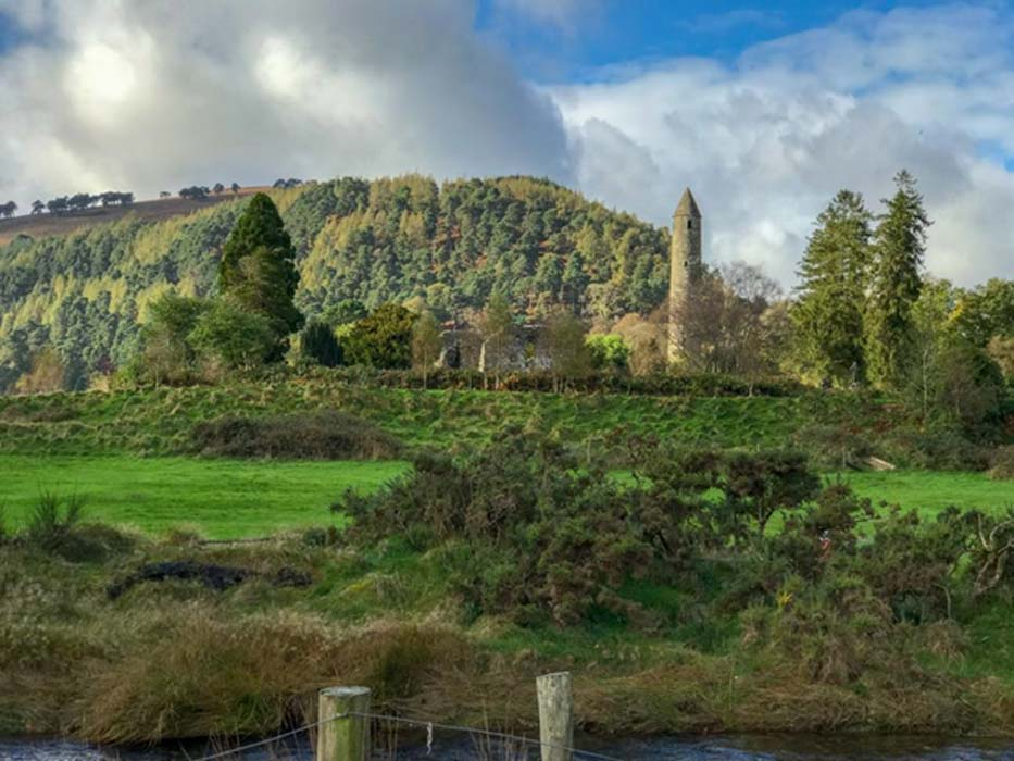 The stunning landscape of historic Glendalough.