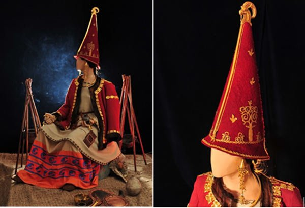Reconstruction of Golden Woman, the ancient Scythian Princess of Kazakhstan