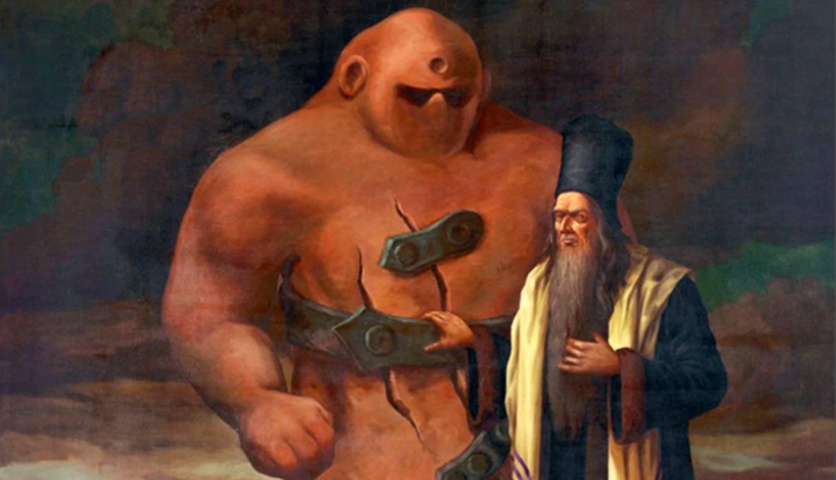 Golem of Prague and Rabbi Loew