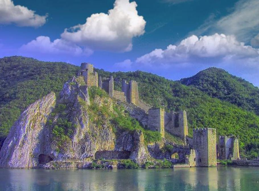 golubac fortress the best preserved medieval fortress in europe