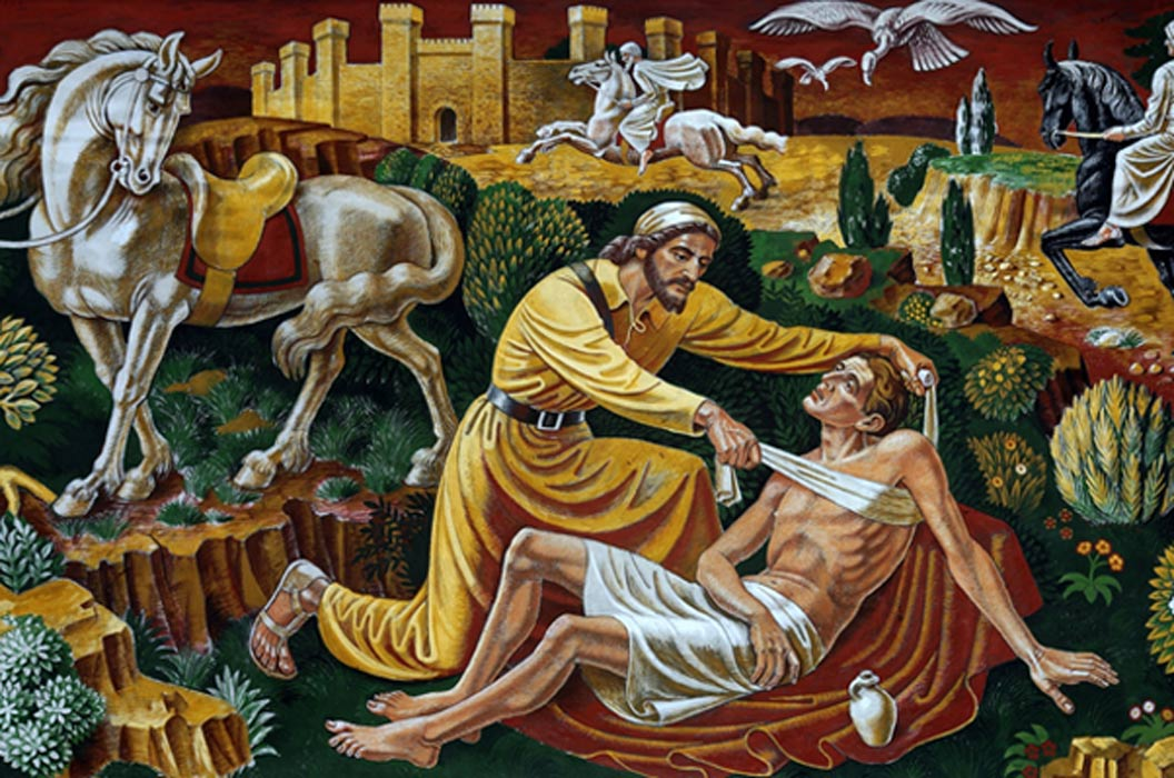 The Good Samaritan.