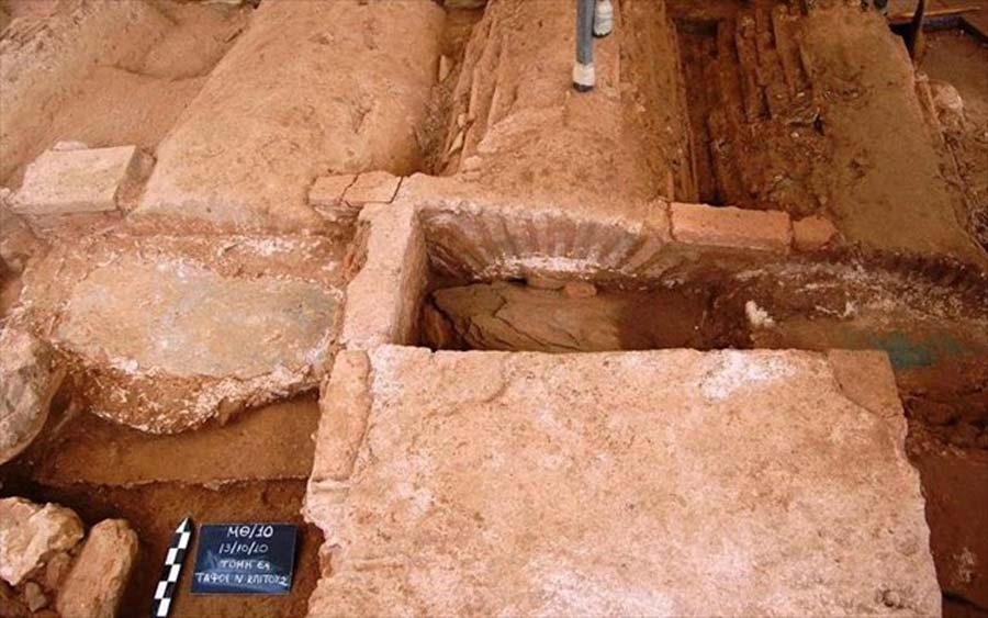 Gothic Warrior Found Buried With a Folded Sword in Macedonian Basilica