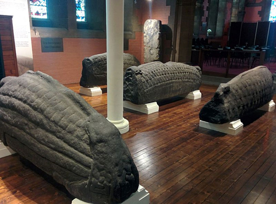 Hogsback Stones in the Goven Church