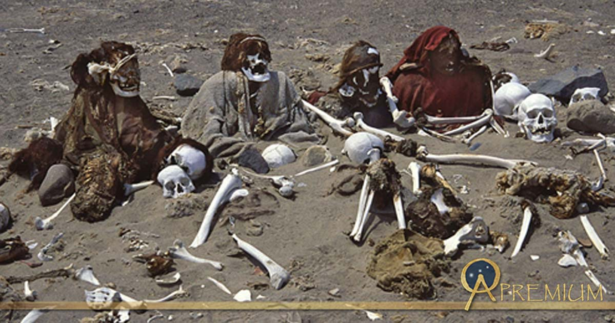 Nazca mummies robbed of precious textiles