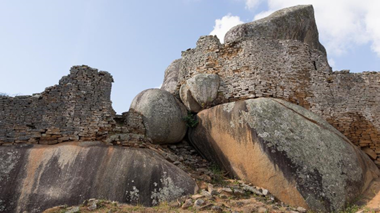 The Great Zimbabwe Ruins.