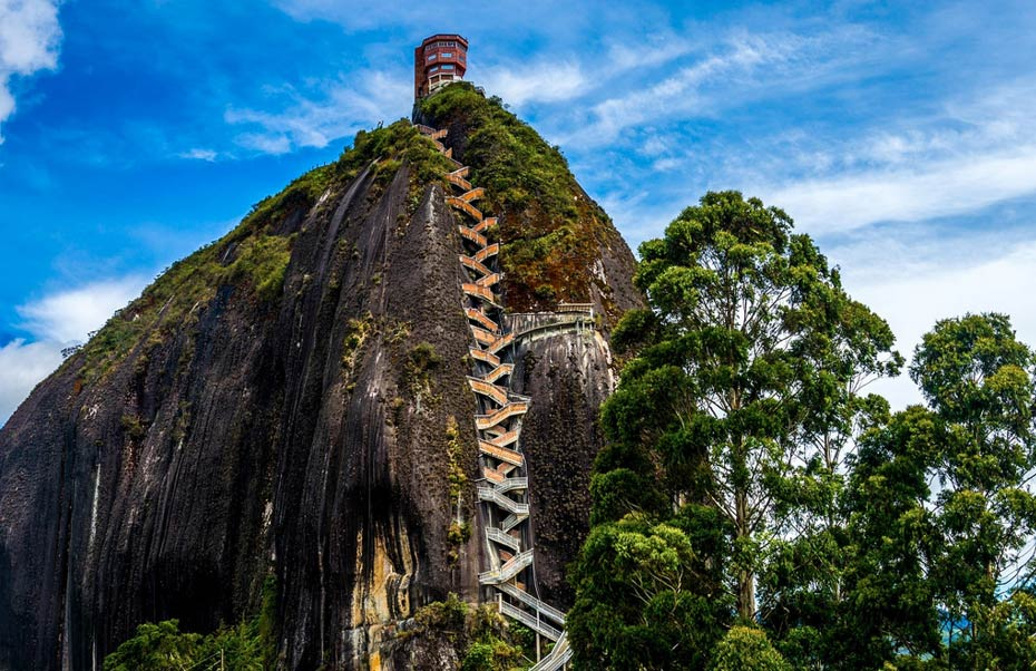Guatape could you climb the mystery rock of guatapé in colombia? | ancient