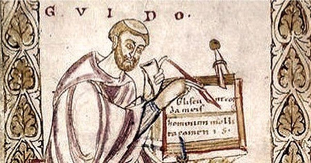 Guido of Arezzo.