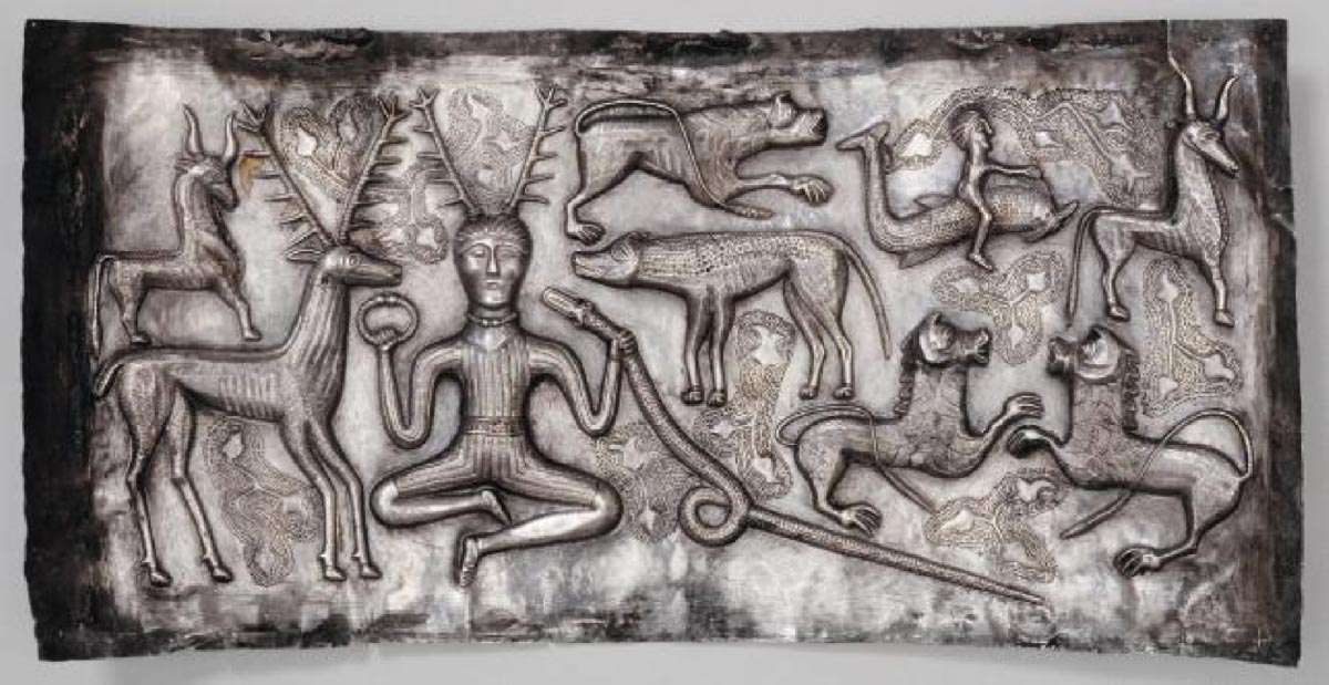 The Gundestrup Cauldron: Largest and Most Exquisite Iron Age Silver Work in Europe