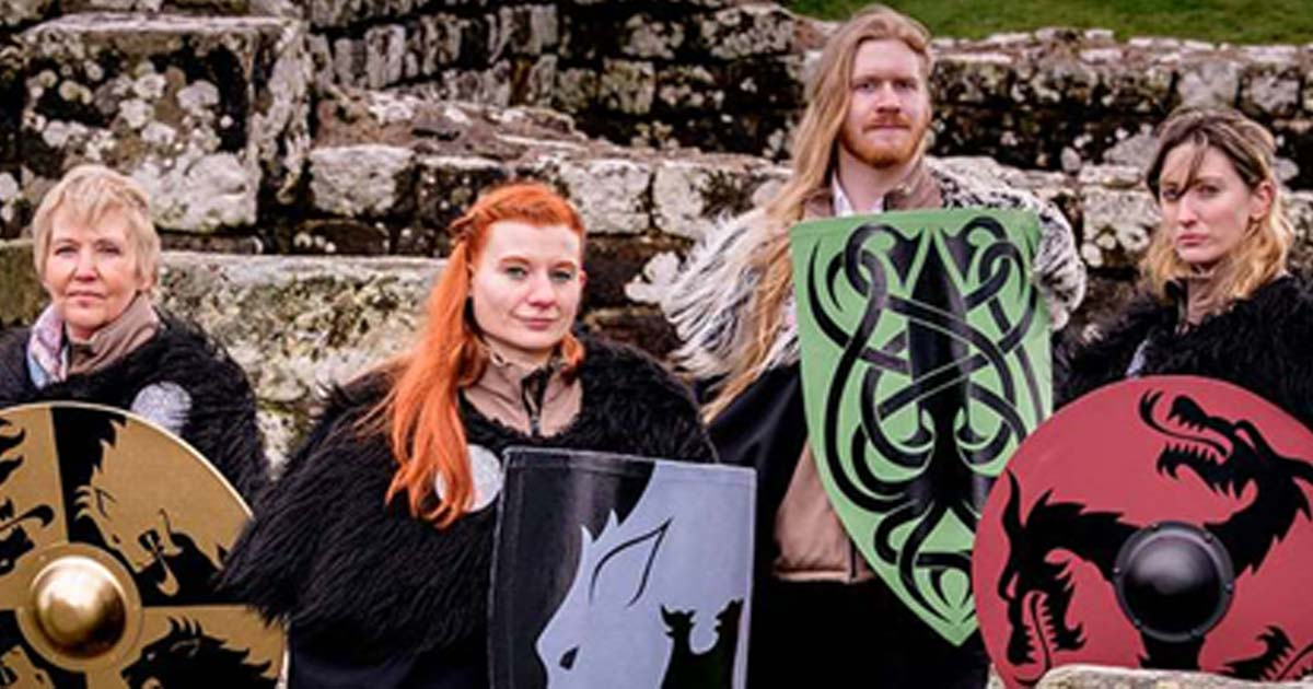 Watchers of the wall are ready to answer questions about Hadrian's Wall or Game of Thrones